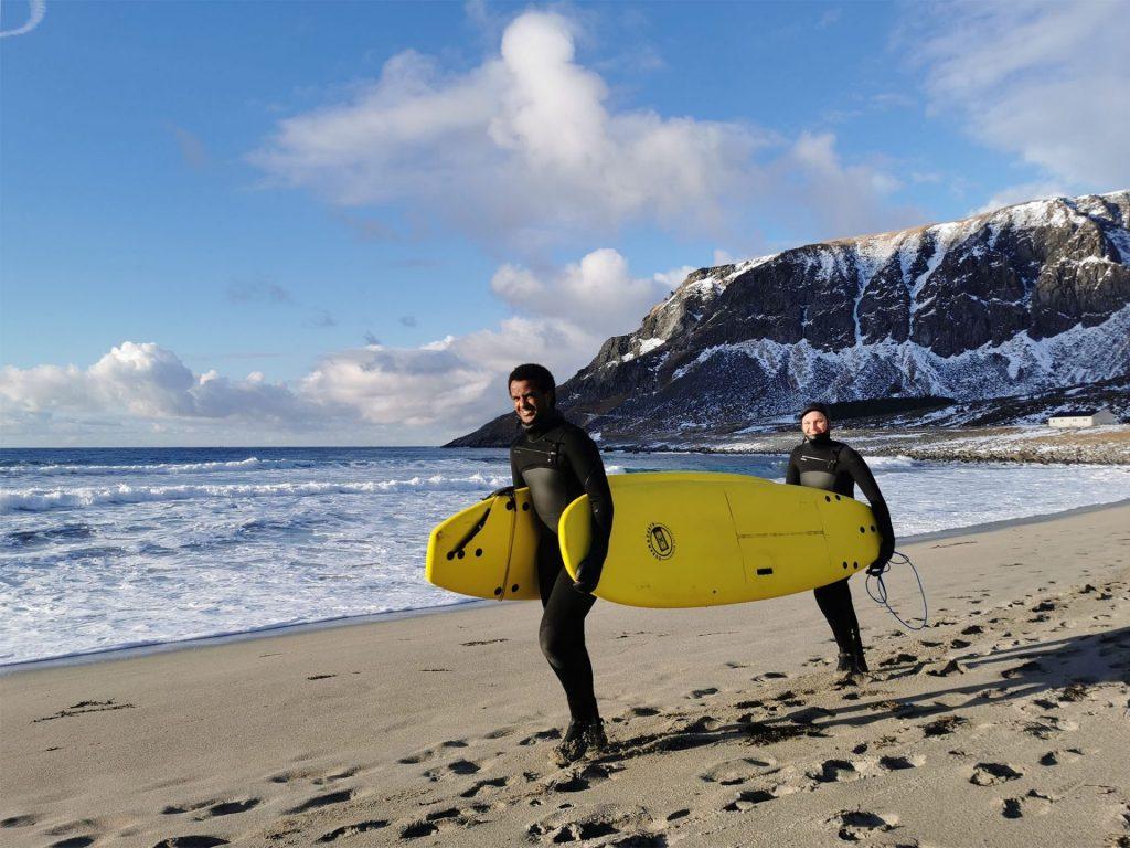 Friluftsliv X Bali surfing Lofoten 2021