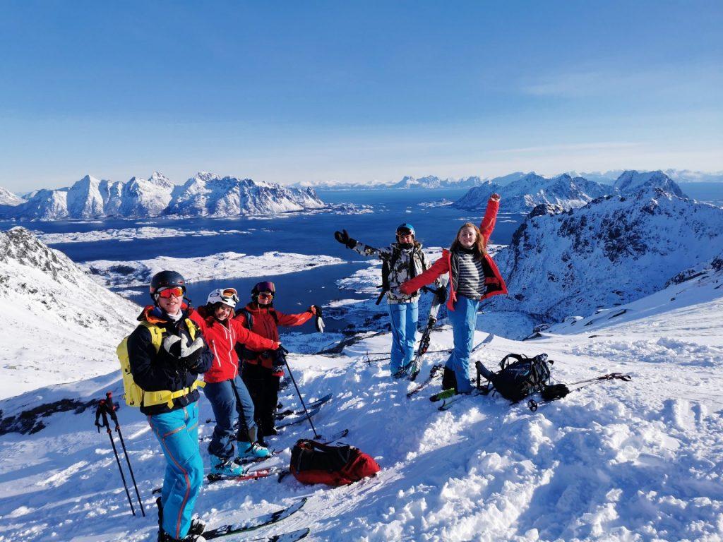 Friluftsliv X Bali skitur Lofoten 2021